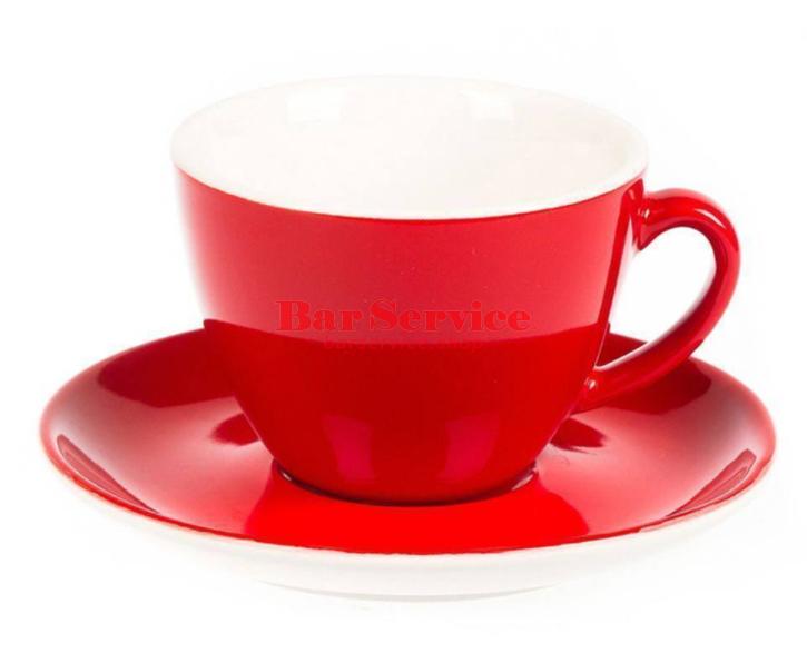 Чайная пара 200 мл красный цвет Barista P.L. в Рязани