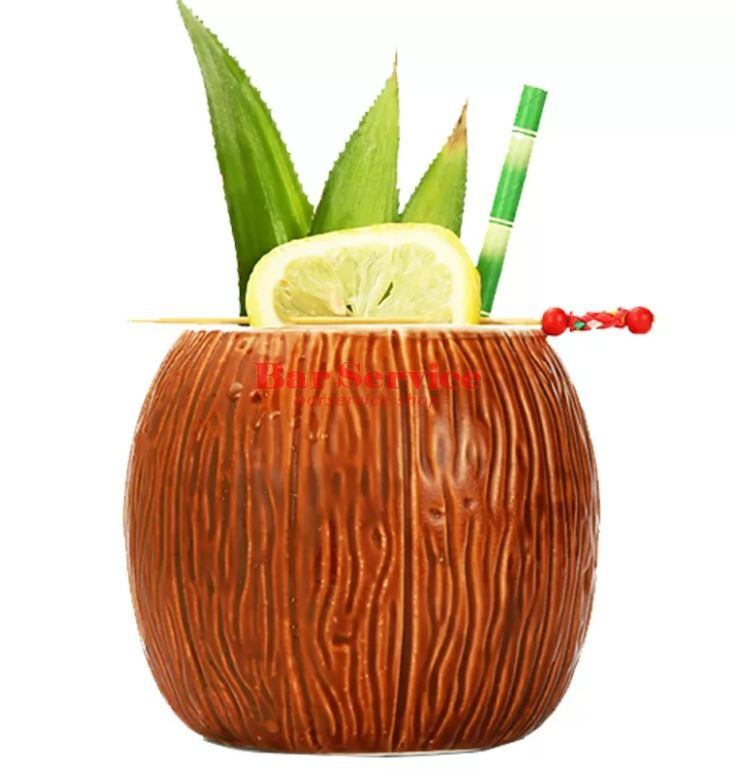 "Бокал д/коктейлей ""Тики"" керамика  500мл P.L. Barbossa в Рязани"