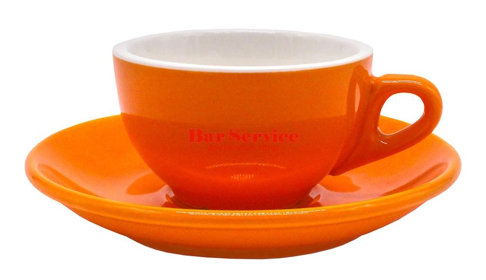 Чайная пара 180 мл оранжевый цвет Barista P.L. в Рязани