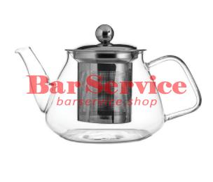 """Чайник """"Проотель""""; термост.стекло; 0,6; D=78мм в Рязани"""