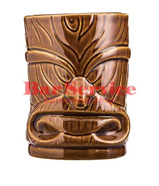 """Стакан д/коктейлей """"Тики"""";керамика 450мл, коричневый. в Рязани"""