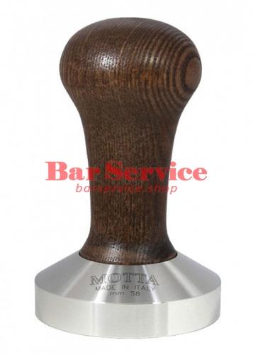 Темпер Мотта 58 мм. (выпуклый) с деревянной ручкой в Рязани