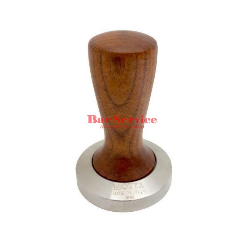 Темпер Мотта SLIM 58 мм. (плоский) рукоятка из дерева в Рязани