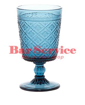 """Бокал д/вина """"Глория""""; стекло; 240мл; синий в Рязани"""
