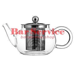 Чайник «Проотель»;  термост.стекло;  0,6л;  D=78мм в Рязани