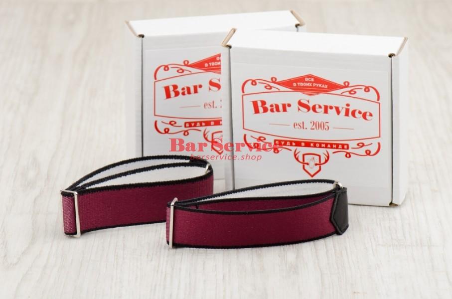 Армбенды, цвет бордо. Bar Service в Рязани