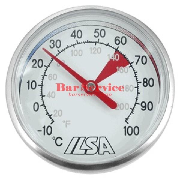 Термометр д/молока; сталь; D=45,L=138/125,B=55мм; металлич. в Рязани