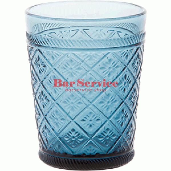 Стакан Глория; стекло; 350мл; синий в Рязани