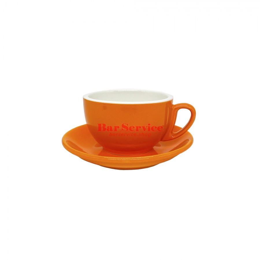 Чайная пара 270 мл; оранжевый цвет; Barista P.L. в Рязани